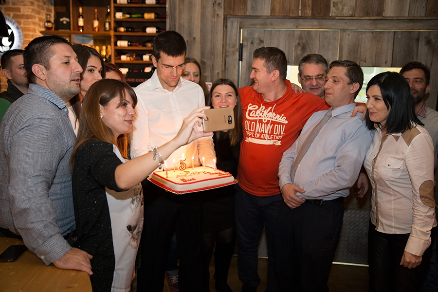 5 years of Red Angus Steakhouse celebration event
